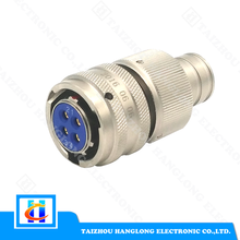 Factory price pin Waterproof male female cable connector