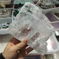 Natural Transparent Gypsum Selenite Rough Stone For Decoration