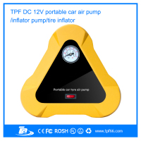 new multi-function portable mini brand car tyre inflator pump for car tyres