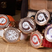 alibaba express hot selling new style good looking beautiful lady watch