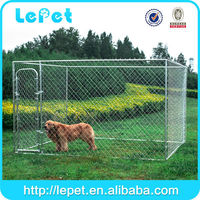 Steel welded mesh chain link dog runs kennel