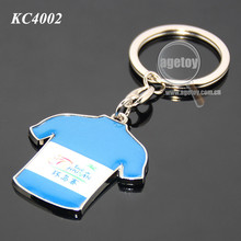 Cycling Sports Games Souvenir Metal T Shirt Keychain