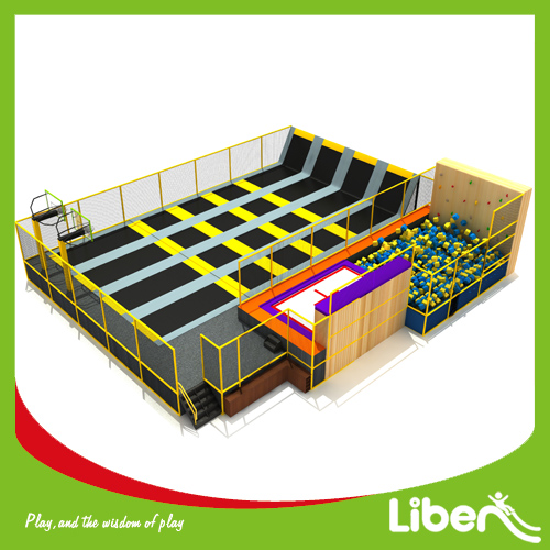 Hot sale outdoor bungee trampoline park for adults