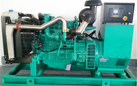 Water-cooled 113 kva Diesel Generator set open frame ATS gensets price