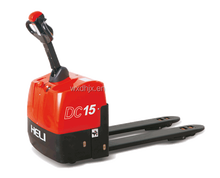 Heli floor price semi electric battery operated pallet truck