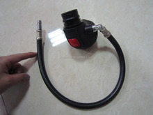 High Pressure supply valve for SCBA set