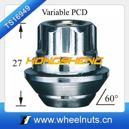 avarilable PCD conical wheel lock security nut and bolt
