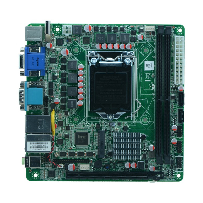 LGA1151 Skylake Platform dual lan industrial embedded MINI_ITX Motherboard supports DP with 6 serial ports ,10 USB