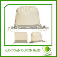 cool drawstring canvas bag