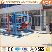 Teak woods cutting machine double saw blades angle sawing machine