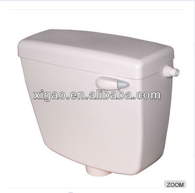 Plastic toilet tank fitting sanitary ware cistern ABS cistern water tank/Water saving abs plastic dual flush Right Hand Flush
