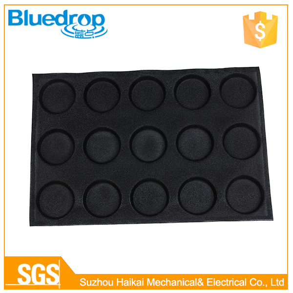 40X60CM Flexible Hamburger Silicone Baking Forms Perforated Silform Tray