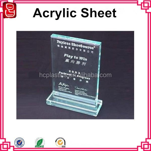 Poster Frame Plastic Sheets