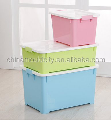 Thick plastic storage box mould