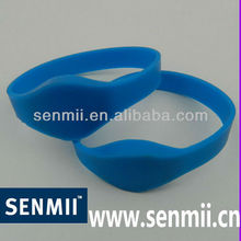 Factory custom wholesale Identity authentication silicone bracelet