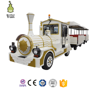 Playground equipment amusement park outdoor sightseeing train sets rides for sale