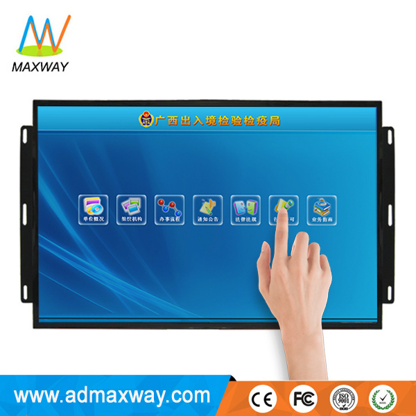 21.5 Inch Open Frame Infrared Capacitative RS232 USB Powered Touchscreen Lcd Touch Screen Monitor