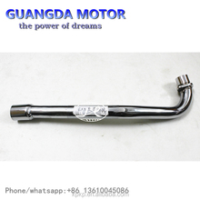 Universal Motor Parts,Modified Muffler Long EX5 Steel Link Pipe for Motorcycle
