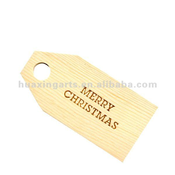 Wishing tree wooden tags & placecards,wooden christmas decoration