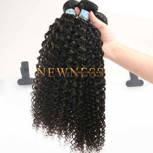Low price 100% virgin human hair weave,natural hair extensions,cheap virgin indian curly virgin hair with closure