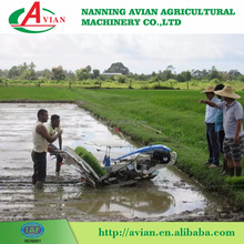 Hand held walking type 4 rows rice transplanter in India with low price