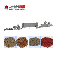New Style ce approved floating fish food pellet machine large capacity process line processing for sale