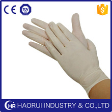 disposable non sterile medical grade latex examination gloves