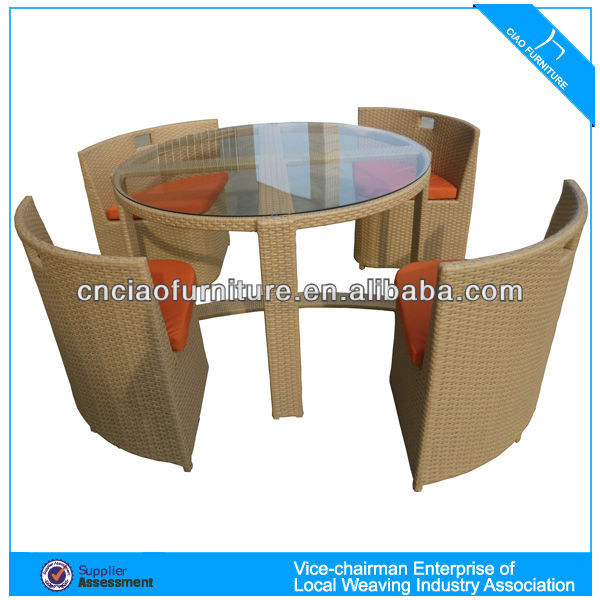 Jakarta Outdoor Rattan Furniture Dining Set