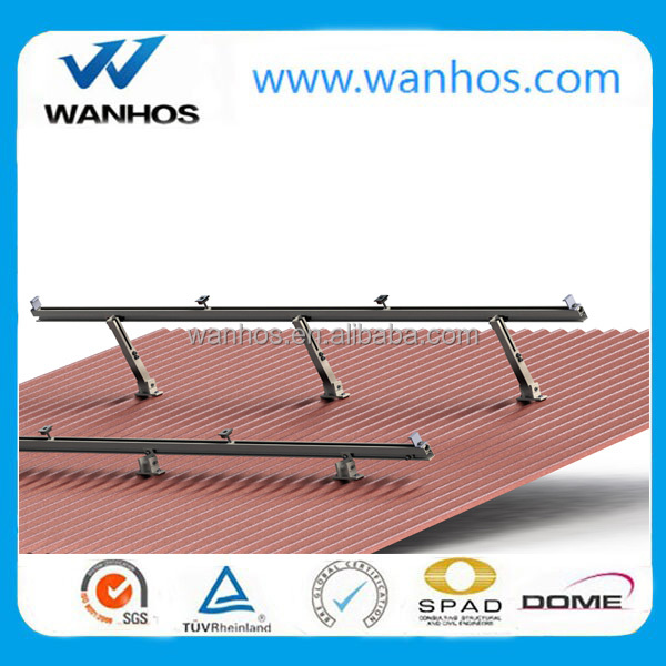 Solar Panel Aluminum Adjustable Roof Mounting Systems