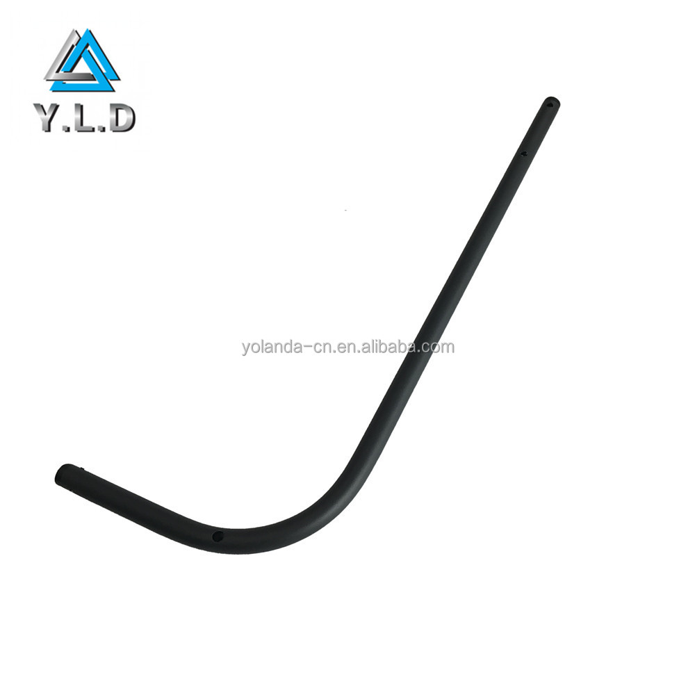 High Quality OEM Wall Mounted Black Powder Coating Aluminum Pipe Folding Arms For Bike