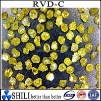 Rugular Synthetic rough yellow RVD diamond powder