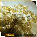pearl beads napkin ring for wedding decoration