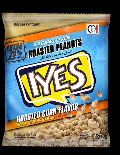 Iyes Coated Roasted Peanuts Corn