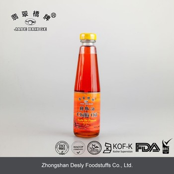Chinese traditional natural capsicum oil chilli oil