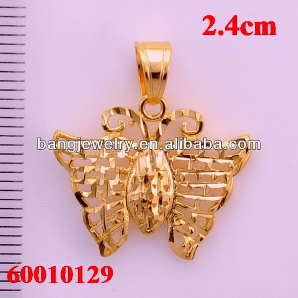 Floating charm pendant gold jewellery manufacturer