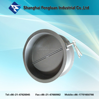 Whole sale industrial round louver air vent valve