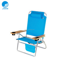 Outdoor Aluminium Folding Low Sand Beach lounge Chair