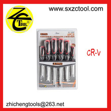 6pcs screwdriver set,3pc slotted,magnetic phillips screwdriver
