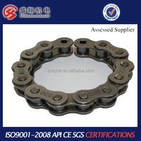 Durable Reinforced Inner Links 428h colored motorcycle chain
