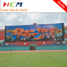 giant led screen outdoor rgb large p16 advertising video display 16mm wall panel on sale