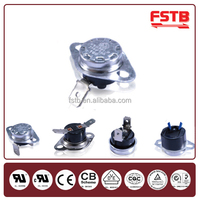 Snap Action Bimetal Disc Thermostat Temperature Cut Off Switch Electric Oven Thermostats Control Switches