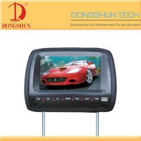 DS-999 9 inch car headrest dvd player easy to install on car