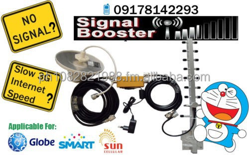 3G & LTE Globe & Smart & Sun Signal Booster / Repeater / Amplifier