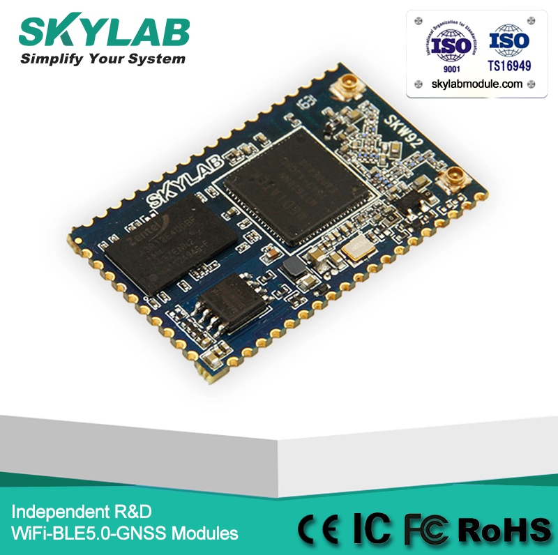 SKYLAB 802.11b/<strong>g</strong>/n Small Embedded MT7628 WiFi Module SKW92A Programmable Wireless Router