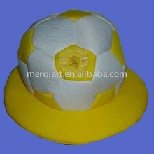 2014 World Cup hat with your football club logo for sports fan promotion.