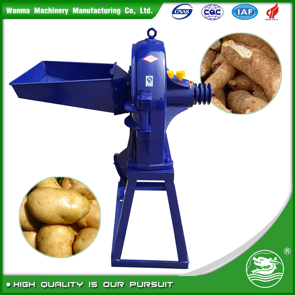 WANMA4702 Electric Motor Disk Corn Grinder Machines