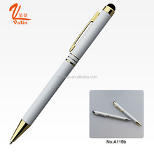 Stylish and Elegant White iPhone iPad Stylus Touch Screen Pen
