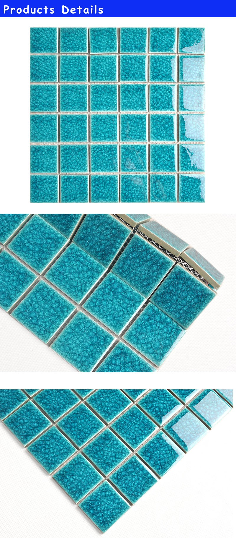 cheap bathroom wall mosaic ceramic letter mosaic tiles for crafts ...