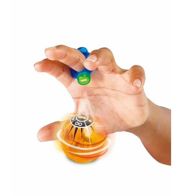 Magic Speed Magneto Spheres Flashing Glowing Ball Spinner Toy