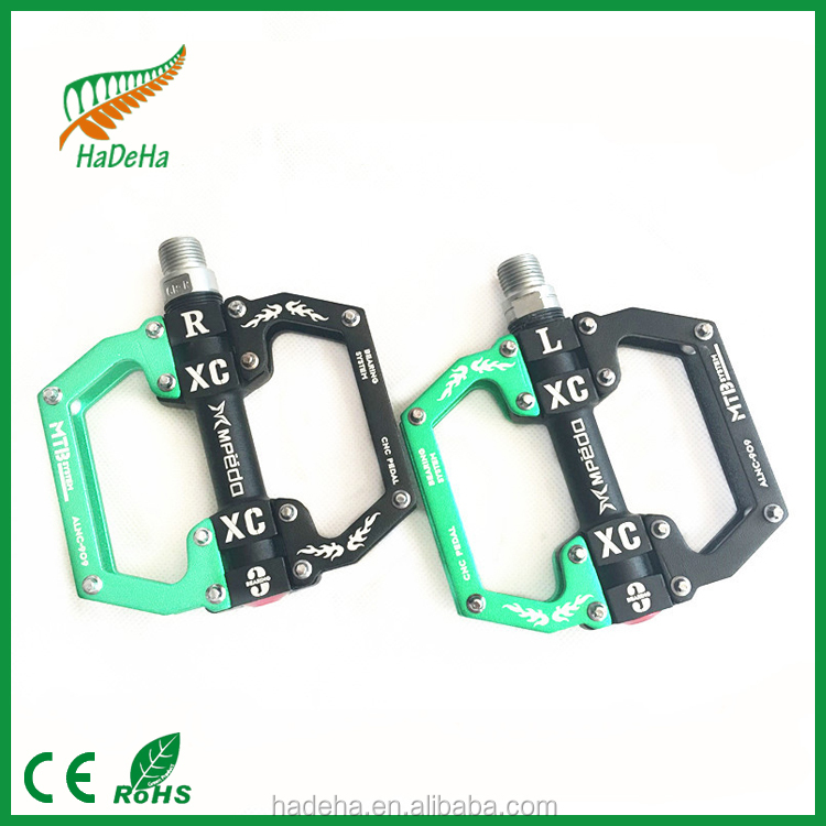 2016 good quality High pedaling efficiency bicycle pedal with <strong>bearing</strong> / strong waterproof bike pedals bmx